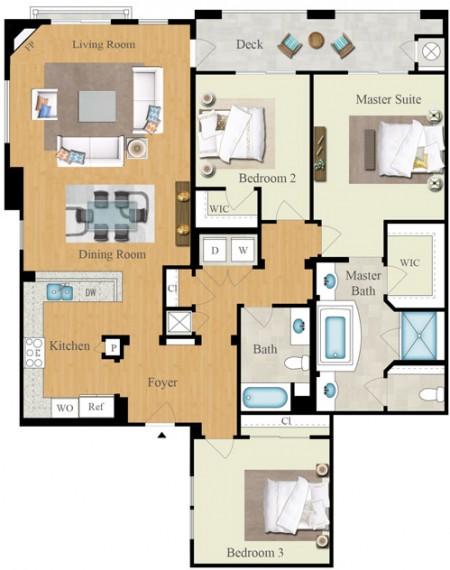 TheEnclave-3B-2-FloorPlan-Print-KW
